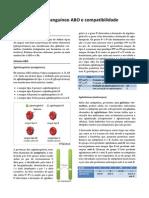 Sistema sanguíneo ABO e compatibilidade