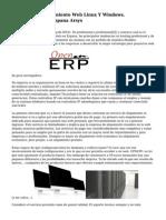 Alojamiento, Alojamiento Web Linux Y Windows. Alojamiento web Espana Arsys