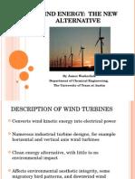 Wind Energy 6 ppt file