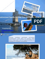 Customized Family Holiday Tour Packages