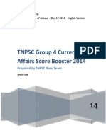 TNPSC Group 4 Current Affairs Score Booster