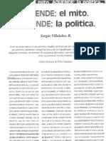Sergio Villalobos Allende, el mito, aquende, la política