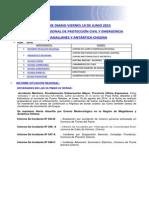 Informe Diario Onemi Magallanes 19.06.2015