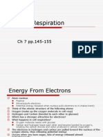 Energy and Cell Resp ETC and GLYCOLYSIS Ch 7 Part 2