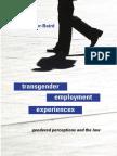 Transgender Employment Experiences