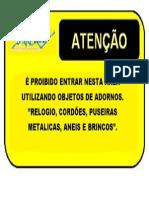 Placa Adornos