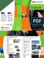 ODE Consultants Brochure 2015 Flyer