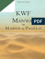 KWF Manwal Sa Masinop Na Pagsulat