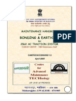 Maintenance Handbook on Bonding Earthing for 25 KV AC Traction Systems(1)