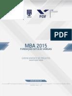 Programa MBA - Gerenciamento de Projetos