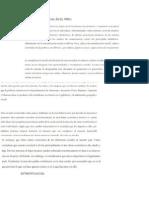 Estratificacion Social en El Peru