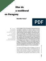EL LADO MILITAR DE LA OFENSIVA NEOLIBERAL EN PARAGUAY - MARIELLE PALAU - PORTALGUARANI