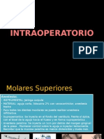 INTRAOPERATORIO molares superiores
