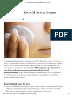 Cómo hacer tónico facial de agua de arroz.pdf