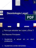 Deontología Legal