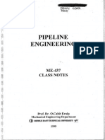 Pipeline Engineering Notes