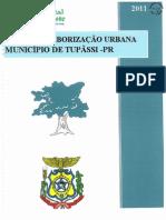 Plano de Arborização Urbana de Tupassi
