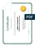 Certif Span
