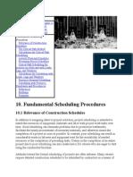 Fundamental Scheduling Procedures (1)