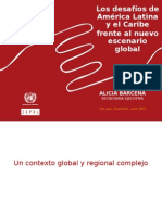 1-2015-CEPAL-Los Desafíos de América Latina y El Caribe Frente Al Nuevo Escenario Global