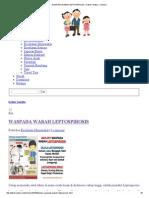 Waspada Wabah Leptospirosis – Dokter Anakku – Articles