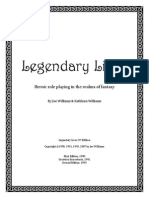 Legendary Lives 2nd Edition
