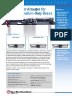 Medium-Duty Actuator Brochure
