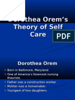 Dorothea Orem Theory