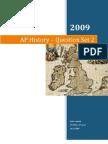 AP History - Question Set 2, Questions 1-20, APEUH