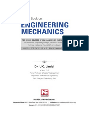 A text book on Engineering Mechanics pdf   Rotation Around A