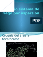 Diseño Sistema de Riego Por Aspersion