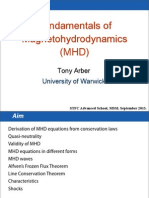 Fundamentals of Magnetohydrodynamics (MHD)