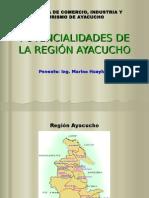 Ventajas Comparativas de Ayacucho Ing. Marino Huayhua