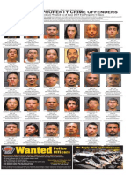 Most Wanted Property Crime Offenders June 2015