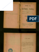 Historia Patria Justo Sierra 1ER AÑO