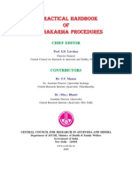A Practicle Hand Book of Panchakarma Procedure
