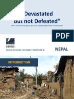 Projektplan Erdbebenhilfe Nepal