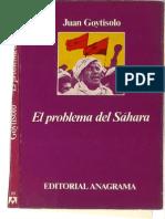 El Problema Del Sahara - Juan Goytisolo