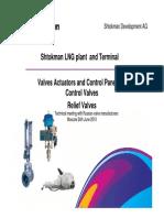 Valves for Shtokman Field (Instrumentation)