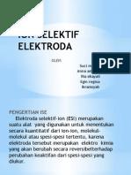 Ion Selektif Elektroda