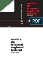 Efeitos Da Virtualização e Processo Eletrônico. Artigo RTRF4 84