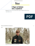 The Racist Flags on Dylann Roof's Jacket, Explained
