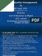 Total Quality Management TQM Lecture