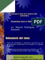 Vislumbrando El Futuro de La Industria Textil Guatemalteca, Power Point