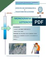 Monogrfia Sobre La Lotizacionn - Copia