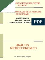 Análisis Microeconómico UNCP