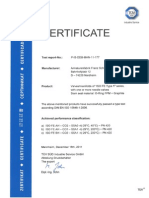 ISO FE Type a Zertifikat En