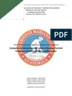 Propuesta de Estrategia Ambiental Cordillera Alux