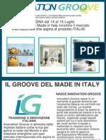 Innovation Groove StartUp Brochure