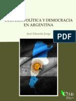 Jorge - Cultura Politica y Democracia en La Argentina Epilogo